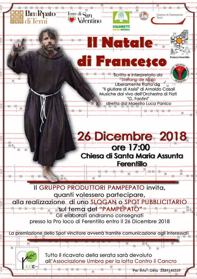 Il Natale di Francesco